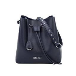 Bolsa saco Santa Lolla Azul fechado