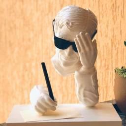 Chico Xavier - Escultura 3D