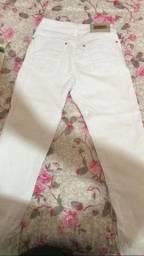 Vendo calça jeans branca n 36