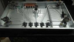 Cooktop Philco chef5 5 bocas automático tripla chama