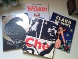 HQ Quadrinnhos - Noturno, Che, Wilson e Clara da Noite. Combo Graphic Novel
