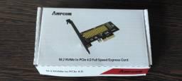 Título do anúncio: Adaptador Ssd M2 Pcie X4 M.2 Nvme Placa Conversor Express