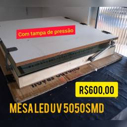 Serigrafia Mesa revelação led uv SMD5050
