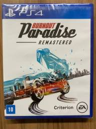 Burnout Paradise Remastered Ps4 Mídia Física Novo Lacrado
