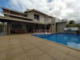 Casa Cond. Costa Esmeralda com 4 suítes, 350 m² por R$ 1.690.000 - Guarajuba - Camaçari