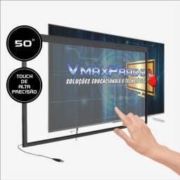 Título do anúncio: Moldura interativa VmaxPrado 50 polegadas
