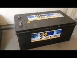 Bateria 150/180 usada com garantia