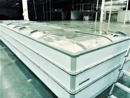 Expositor Refrigerado Ilha Para Congelados Grande Eletrofrio Qualidade