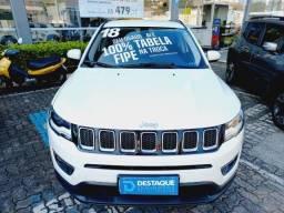 Título do anúncio: Jeep Compass Longitude Aut 2018 Branco