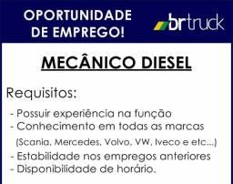 Vaga de Trabalho Mecânico Diesel