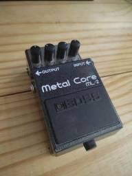 Título do anúncio: Pedal BOSS Metal Core ML-2.