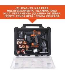 Título do anúncio: BLACK+DECKER Jogo de Ferramentas Combinadas MATRIX 20V MAX