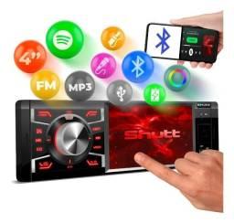 Título do anúncio: Central Mp3 Mp5 Player Los Angeles 1 Din 4 Bluetooth Touch