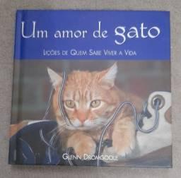 Título do anúncio: Livro Um amor de gato