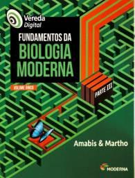 Vereda Digital - Fundamentos da Biologia Moderna APENAS PARTE 3