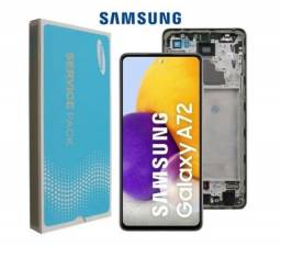 Título do anúncio: Tela / Display Original Nacional P Samsung  A72 (A725) Super Amoled. Valor Já Instalado.