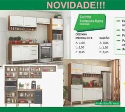 Título do anúncio: COZINHA COMPACTA DAMA NOVA/ AQUÁRIOS AQUÁRIOS AQUÁRIOS