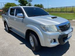 Título do anúncio: Toyota Hilux SRV 3.0 automático 4x4 Único dono Blindada Menor KM Anunciada estado de 0km