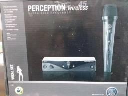 Título do anúncio: Microfone AKG Perception Wireless.