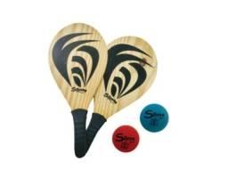 Título do anúncio: Raquetes para Frescobol Tênis de Praia com 2 bolas