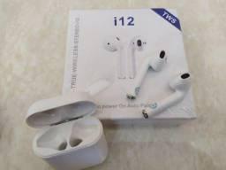 Título do anúncio: Fone de Ouvido Via Bluetooth I12 - Ótimo Fone
