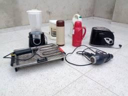 Título do anúncio: Liquidificador, torradeira, cafeteira, churrasqueira elétrica, etc