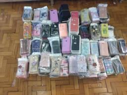 Lote 200 capinhas case de celular atacado revenda