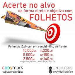 Título do anúncio: Folhetos / Panfleto / Flyer / Folder a partir de R$ 140,00