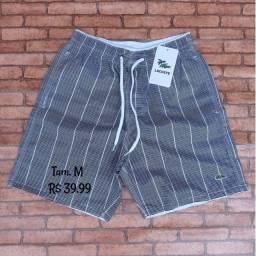 Shorts Maurícinho Tactel Grosso Adulto