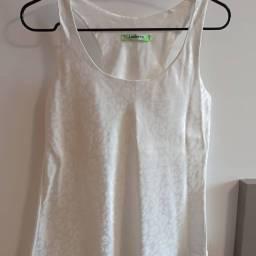 Camisa de oncinha branca P