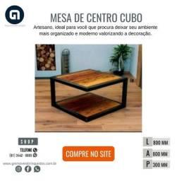 Mesa de centro cubo