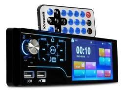 Título do anúncio: Central Multimídia Universal Mp5 Rádio Fm Usb Bluetooth entra camera de ré