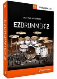 Título do anúncio: Edrummer 2 v2.2.2 pacote completo 50 gb de Expansões (MAC ou Windows)