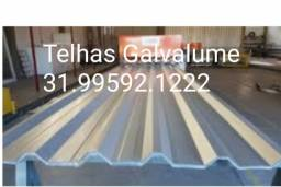 Título do anúncio: Telha Zinco Tres Corações  Região-Atacado  varejo direto  fabrica  Galvalume  perfis  tubo