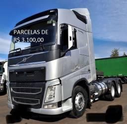 Título do anúncio: Fh 540 6x4 Globetrotter com contrato de serviço (São Leopoldo)