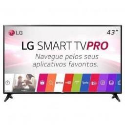 Tv led 43 lg smart tv na caixa com nota fiscal