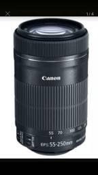 Lente Canon na caixa (Filma e Fotografa)