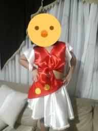 Fantasia maria bonita infantil