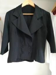 Blazer feminino preto