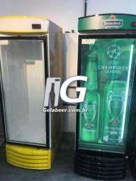 Metalfrio profissional geladeira adesivada