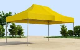 Tenda sanfonada 6x3 em PVC