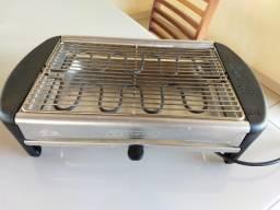 Grill elétrica para uso doméstico