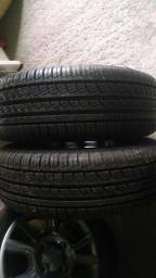 Pneus 195 55 R15 pirelli novo em jundia