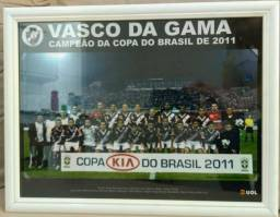 Quadro VASCO DA GAMA Copa do Brasil 2011
