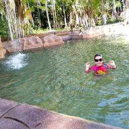 Chácaras com piscina natural
