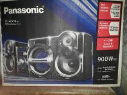 Som Panasonic 900w de potência