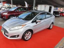 Fiesta 1.6, automático, couro, Ar Digital, impecável - 2014
