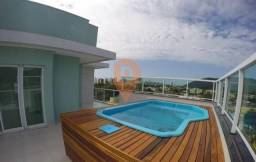 Apartamento/Cobertura com piscina 03 quaeros/suite em matinhos/Caiobá