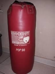 Saco para luta MMA e Boxe