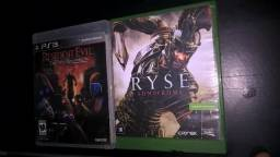 Troco Ryse son of Rome xbox one e Residente evll de ps3 em outros jogos do meu interesse